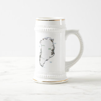 Greenland Flag ~ Map Mug