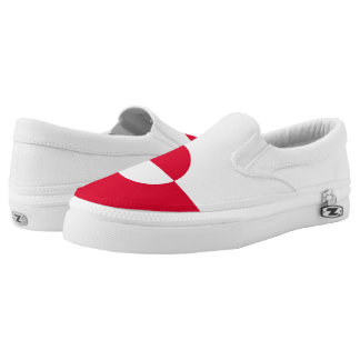Greenland Flag Slip-On Shoes