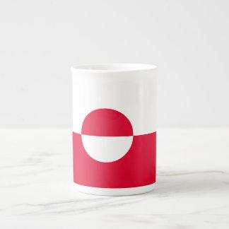 Greenland Flag Tea Cup