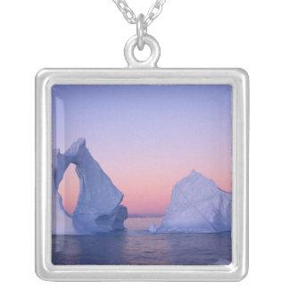 Greenland, Iceberg at sunset. Jewelry