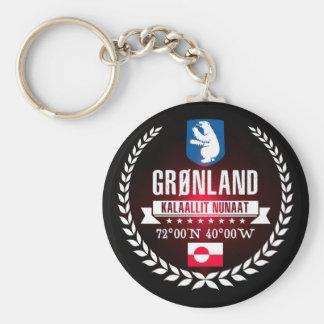 Greenland Key Ring
