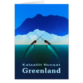 Greenland - Narwhal Card