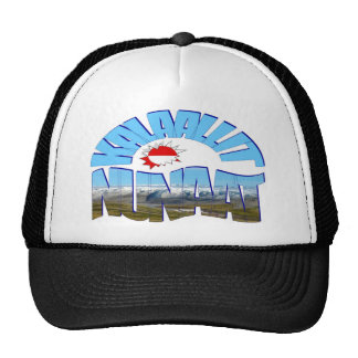 Greenland The Land of Human Beings Trucker Hats