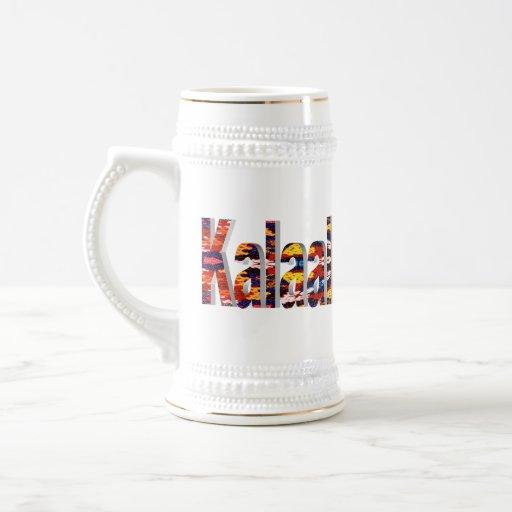 Greenland The Land of Human Beings Coffee Mug