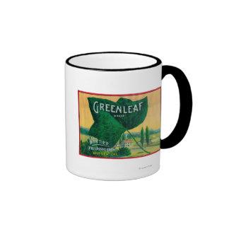 Greenleaf Lemon LabelWhittier CA Mug