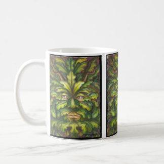 Greenman Basic White Mug