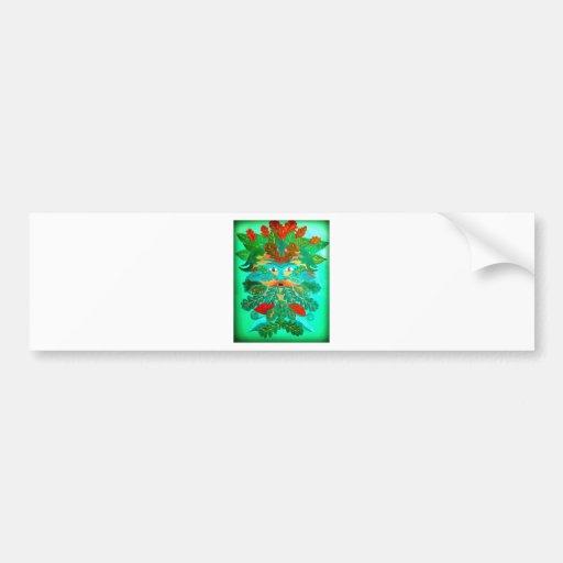 greenman bumper sticker