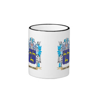 Greenman Coat of Arms - Family Crest Mugs