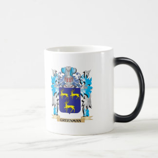 Greenman Coat of Arms - Family Crest Mug