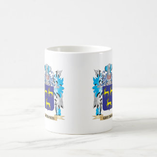 Greenman Coat of Arms - Family Crest Coffee Mugs