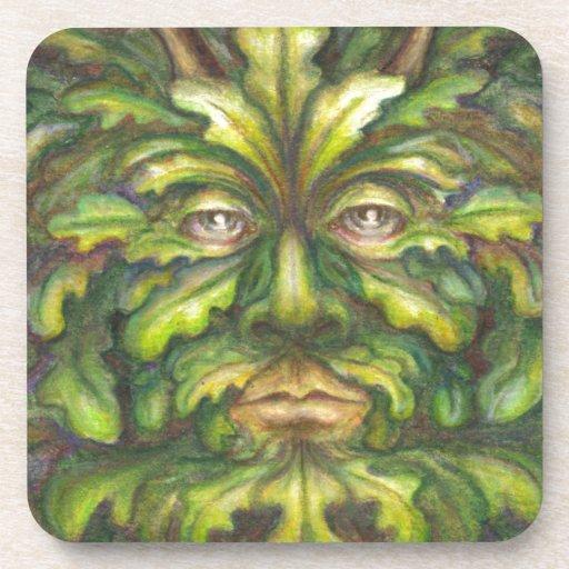Greenman Coasters