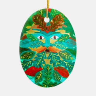 Greenman Christmas Tree Ornament
