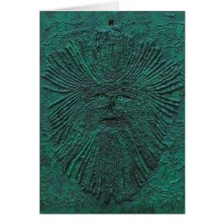 Greenman Greeting Card