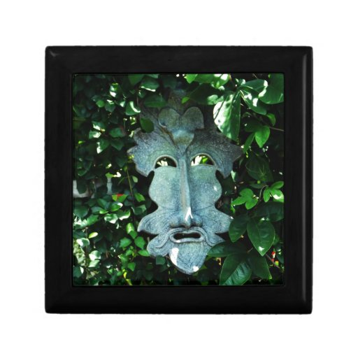 Greenman In the Leaves Jewelry Box