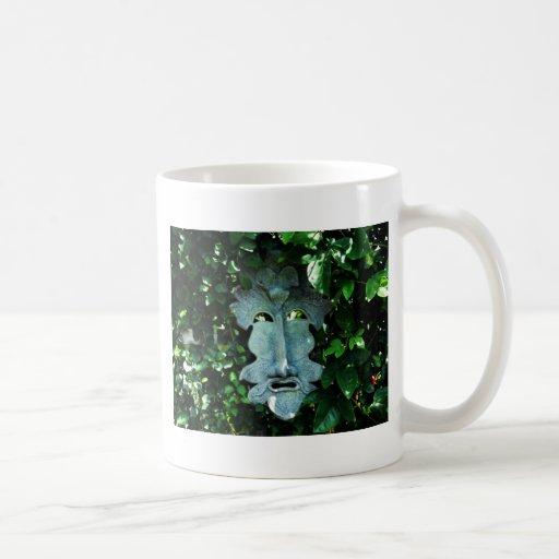 Greenman In the Leaves Mug