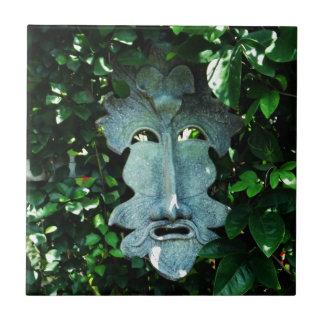 Greenman In the Leaves Ceramic Tiles