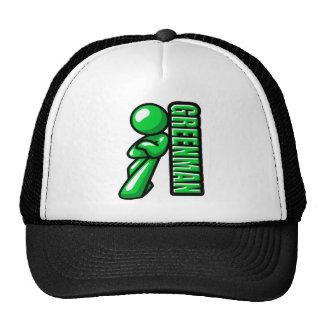 Greenman logo trucker hats