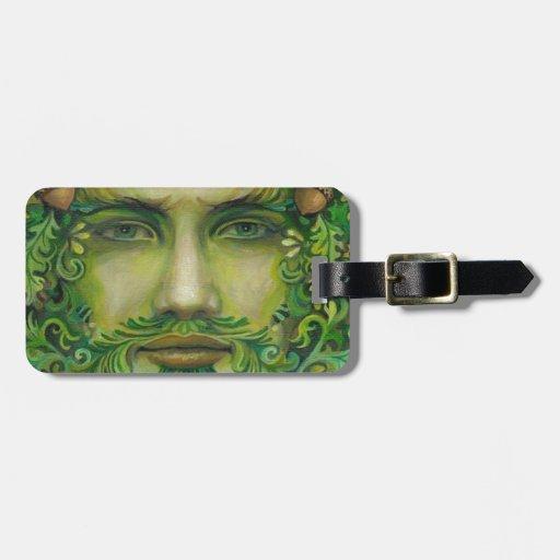 greenman travel bag tag