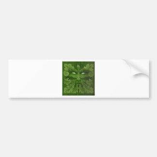 greenman master bumper sticker