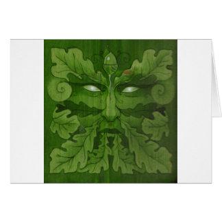 greenman master greeting card