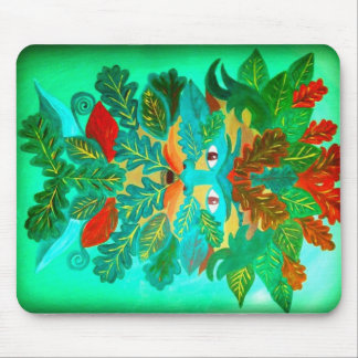 Greenman Mouse Pad