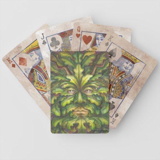 Greenman Bicycle Playing Cards