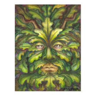 Greenman Postcard