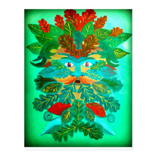 Greenman Postcard
