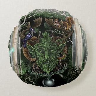 GreenMan Round Cushion