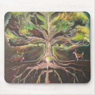 Greenman-tree of life Mousepad - Customized