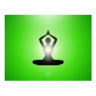 GreenMe Zen Meditation Postcard