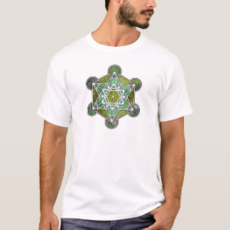 GreenMetatronCube T-Shirt