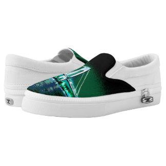 Greens & Blues Bridge Z slipons Slip On Shoes
