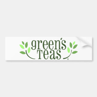 Green's Teas Bumper Sticker