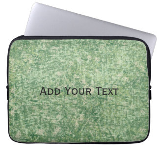 Greens Textured by Shirley Taylor Laptop Sleeve