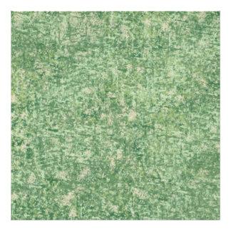 Greens Textured Photo Art