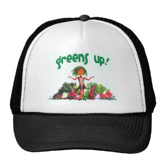 Greens Up! hipster trucker hat