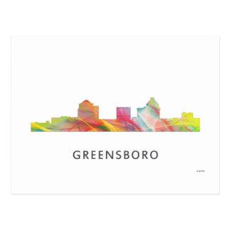 GREENSBORO, NC WB1 POSTCARD