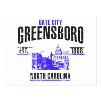 Greensboro Postcard
