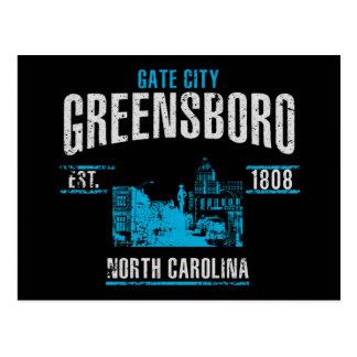 Greensboro Postcard