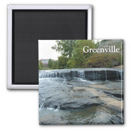 Greenville Falls Park on the Reedy Photo Magnet