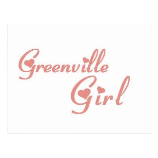 Greenville Girl tee shirts Postcard
