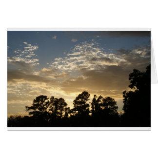Greenville Sunset Card