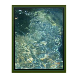 Greenwater 3: l'Eau Acrylic Wall Art