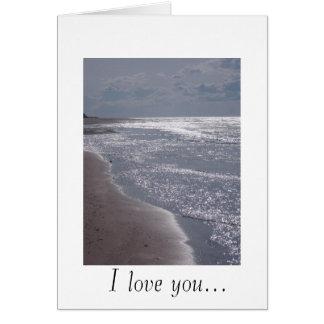 Greenwich Beach Greeting Card