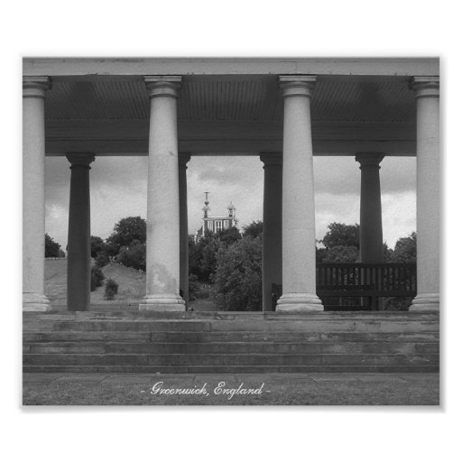 greenwich, England Poster