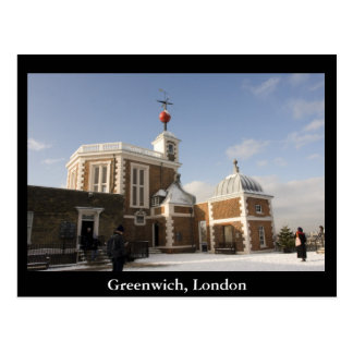 Greenwich, London Postcard