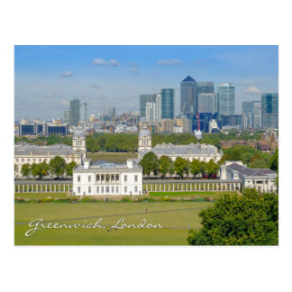Greenwich London UK Postcard