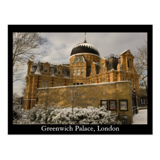 Greenwich Palace, London Postcard