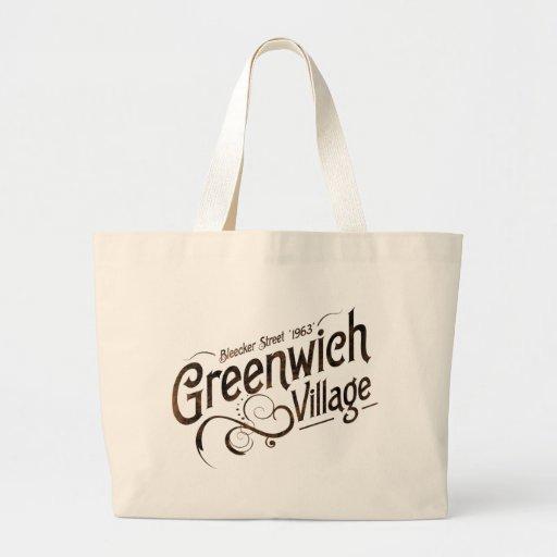 Greenwich Village Tote Bags